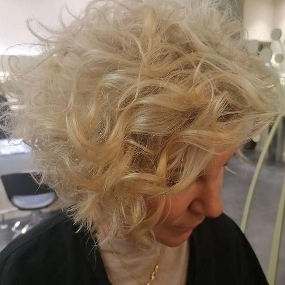 Hair Look Ivory Hair